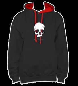 skull-front-blackred-hoodie