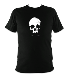 skull-front-t-shirt-black