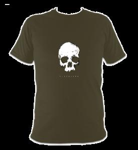 skull-front-t-shirt-olive