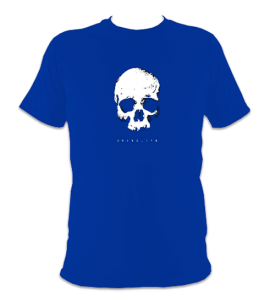 skull-front-t-shirt-royal